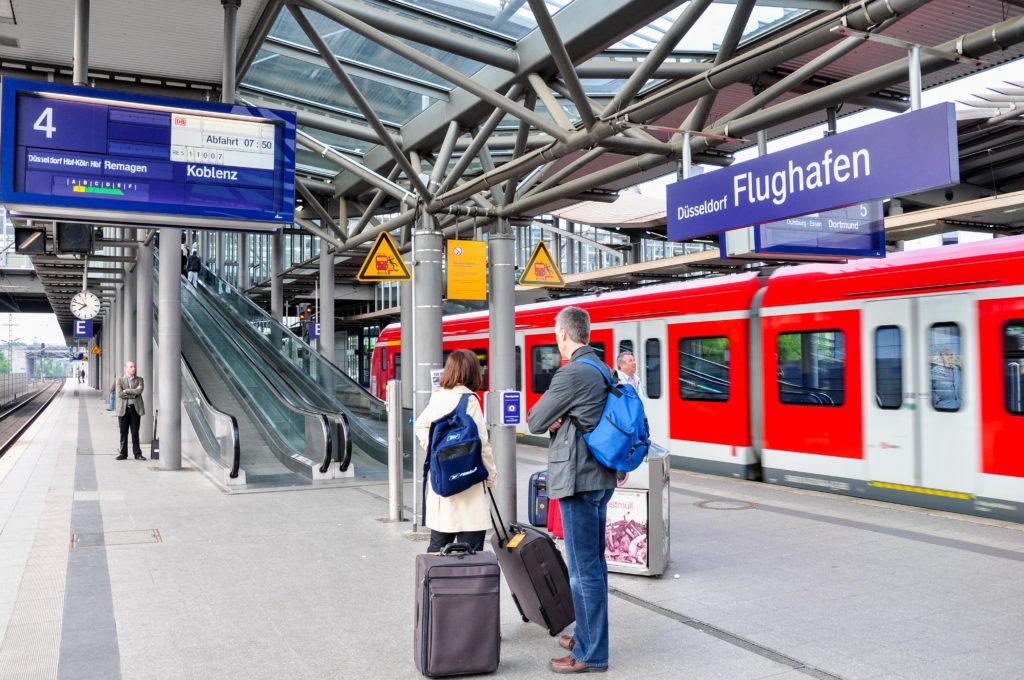 デュッセルドルフ 空港駅