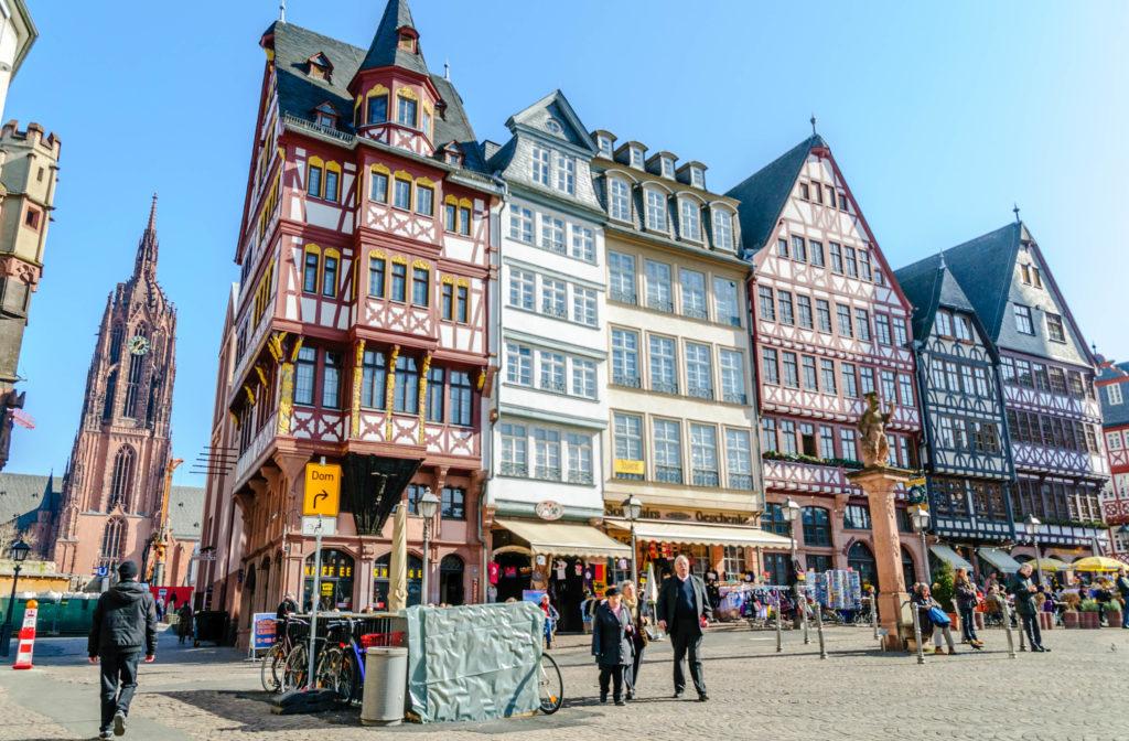 フランクフルト旧市街