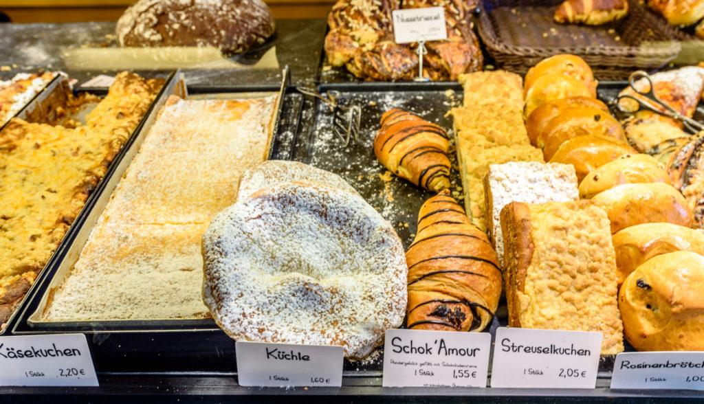 ドイツの物価 菓子パン