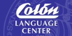 Cólon Language Center ロゴ