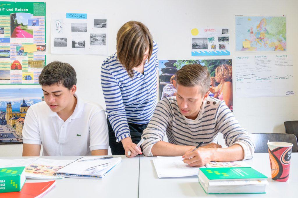 生徒と講師
