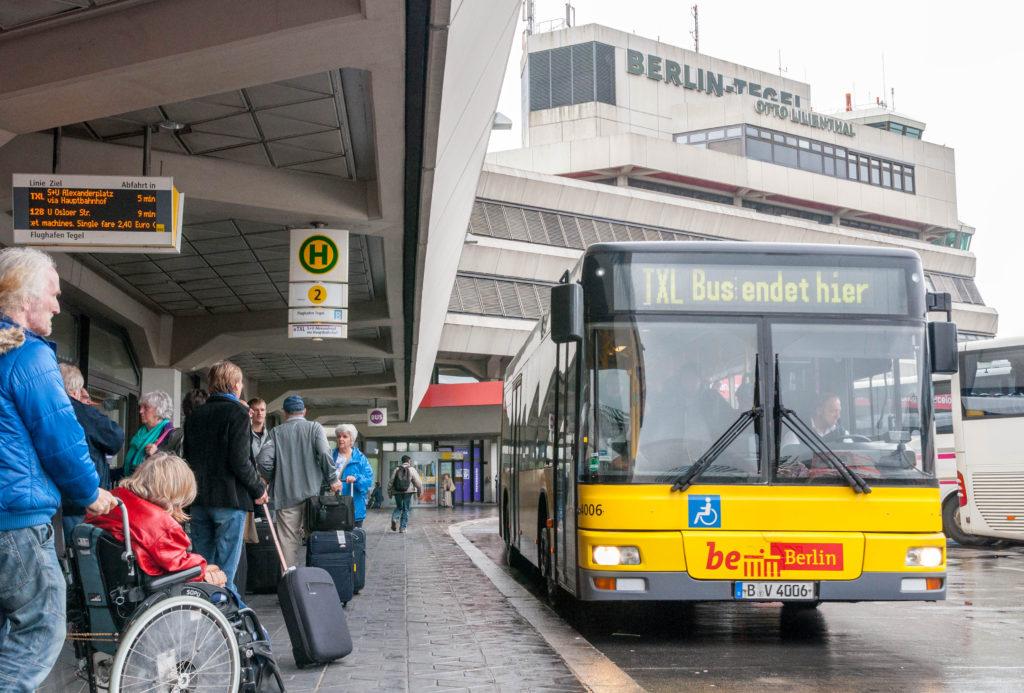 ベルリン テーゲル空港