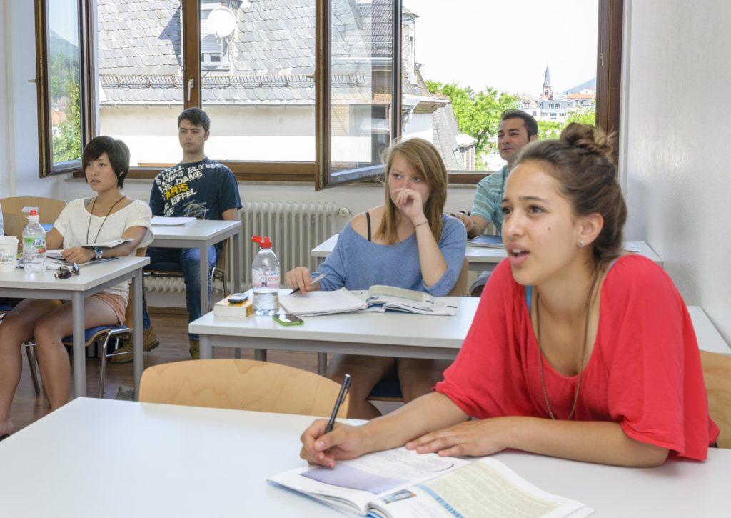 F+U Academy of Languages ハイデルベルク 女生徒