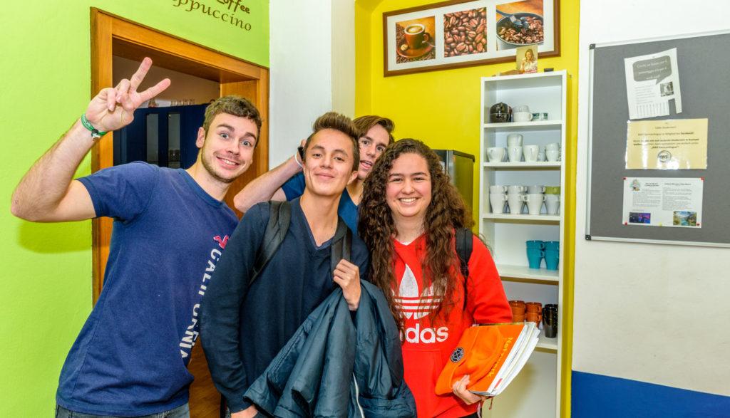 ドイツ語の達人になる 語学学校の生徒達