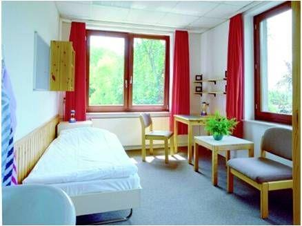 ゲーテ・インスティテュート ゲッテインゲン校の宿舎 シングルルーム