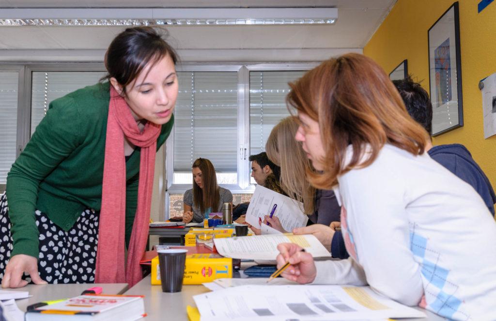 Sprachforum デユッセルドルフの語学学校ならココ!