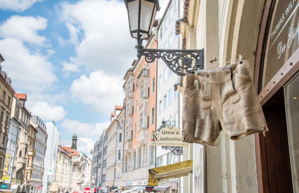 ミュンヘン の皮ズボン