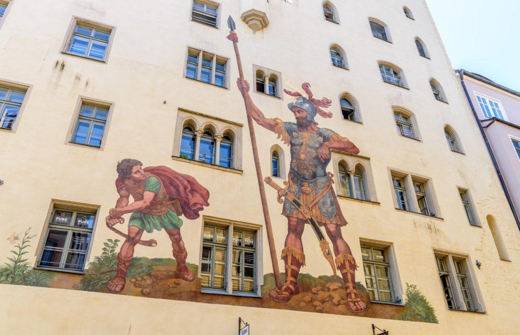 名物壁画 ゴリアトハウス
