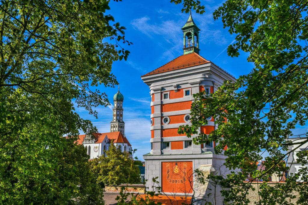 アウグスブルク 赤い塔