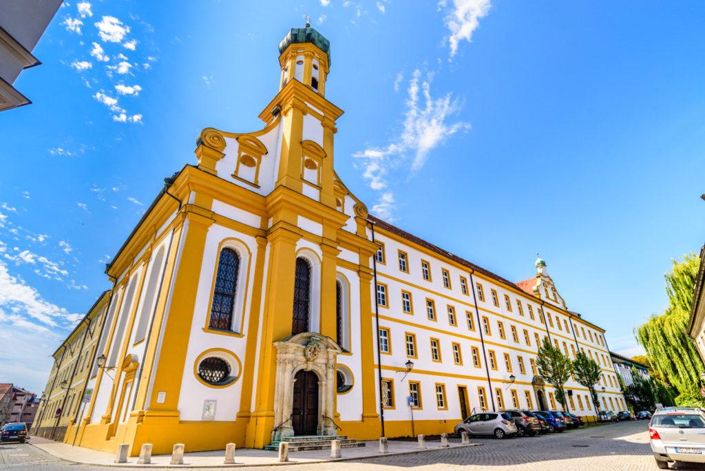 ノイブルクの教会