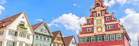 ドイツの観光名所 エスリンゲンの旧市役所