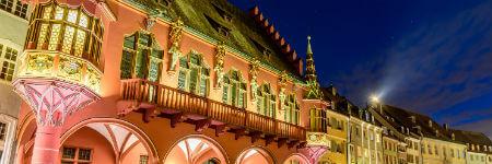 フライブルク 旧市街の綺麗な建物