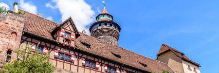 ドイツの観光名所 ニュルンベルクの要塞