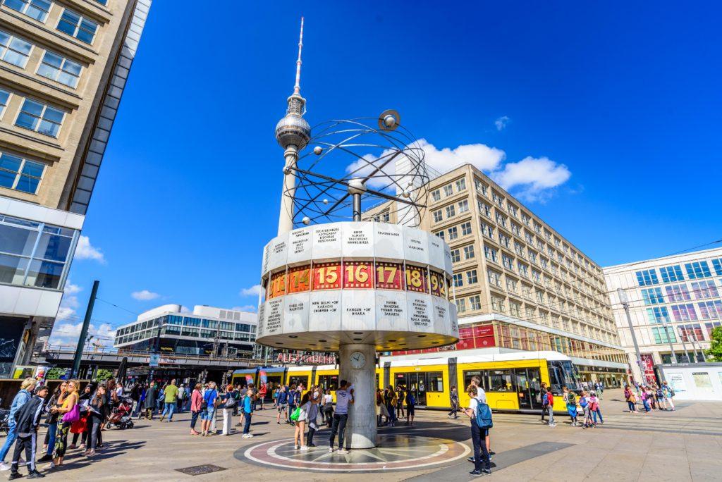 ベルリンの世界時間時計