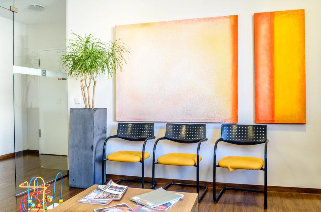 ドイツ診療所の待合室