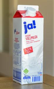 ドイツの物価 ドイツの牛乳パック