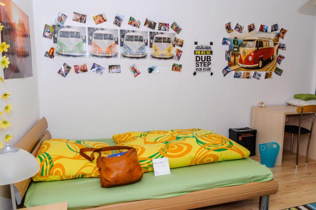 大学季節コース Q & A 学生寮の部屋、ベット、机