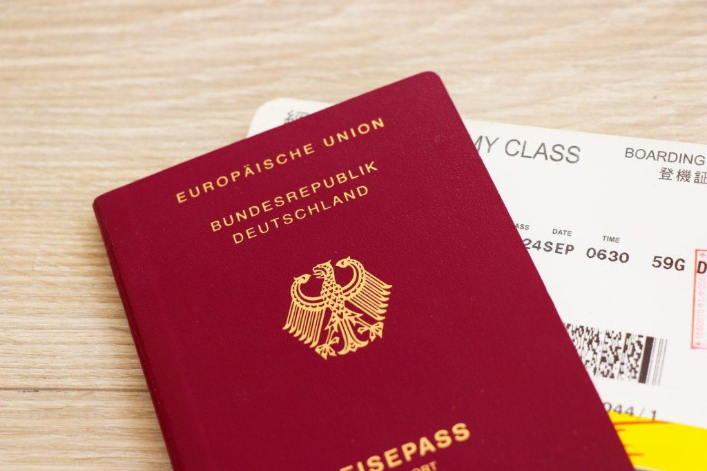 いざ、ドイツに出発! パスポート