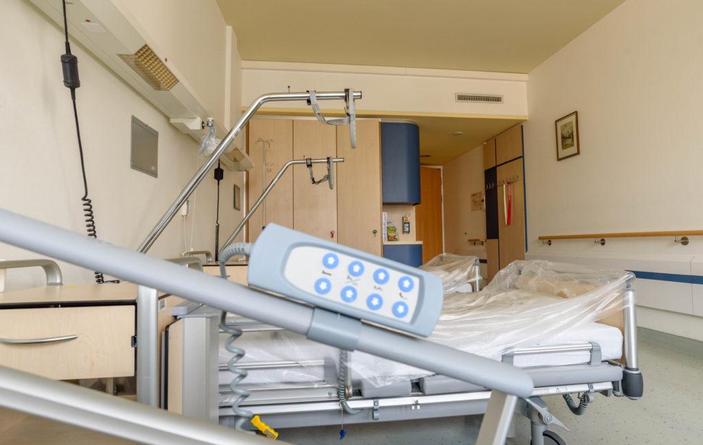 ドイツ留学保険 病院のベット