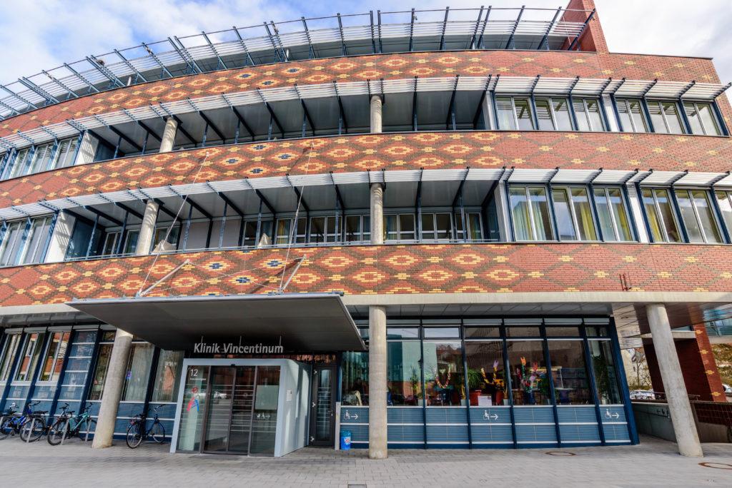 ドイツ留学保険・ワーホリ保険 病院の外観