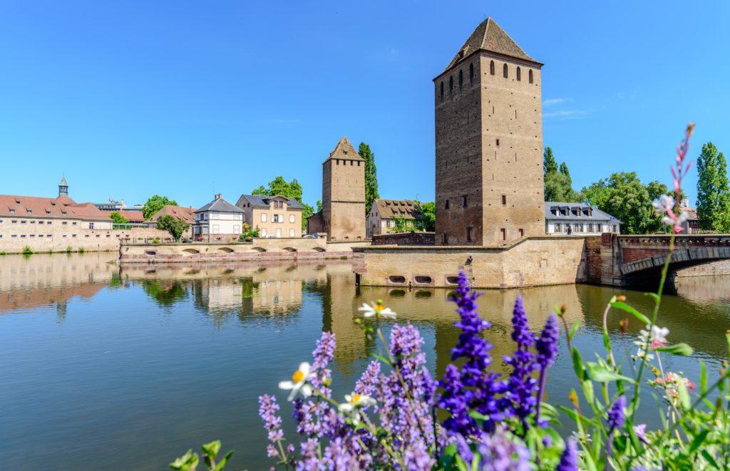 シュトラースブルク 運河と要塞