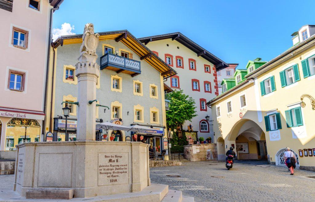 市場の噴水 / Marktbrunnen