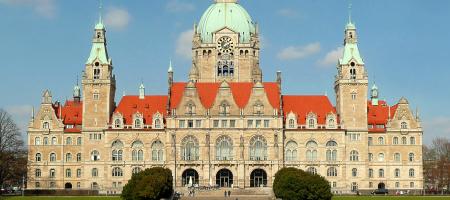 ドイツ留学 ハノーファー市庁舎