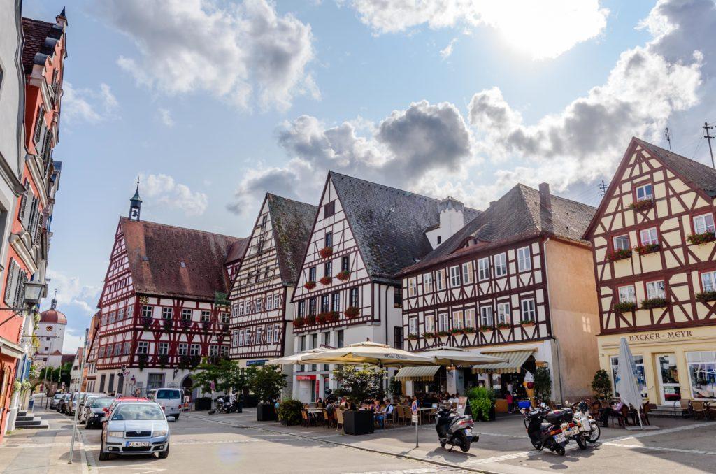 エッテインゲン 市役所前の広場