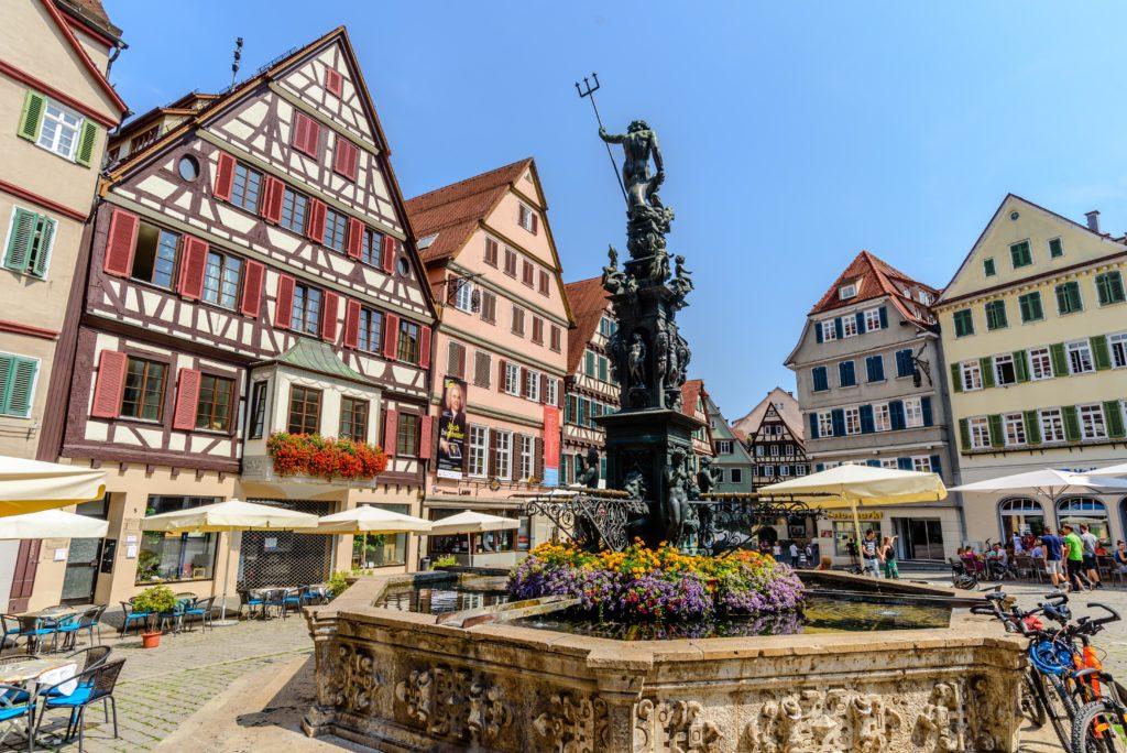 テュービンゲン 市場 / Marktplatz