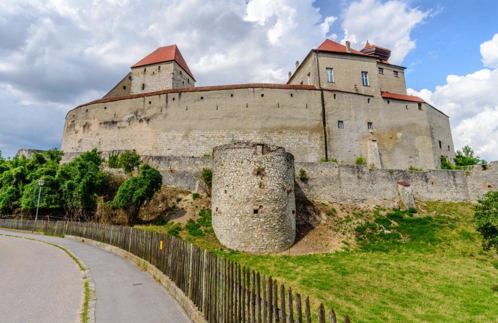 ハーブルク 城の城壁