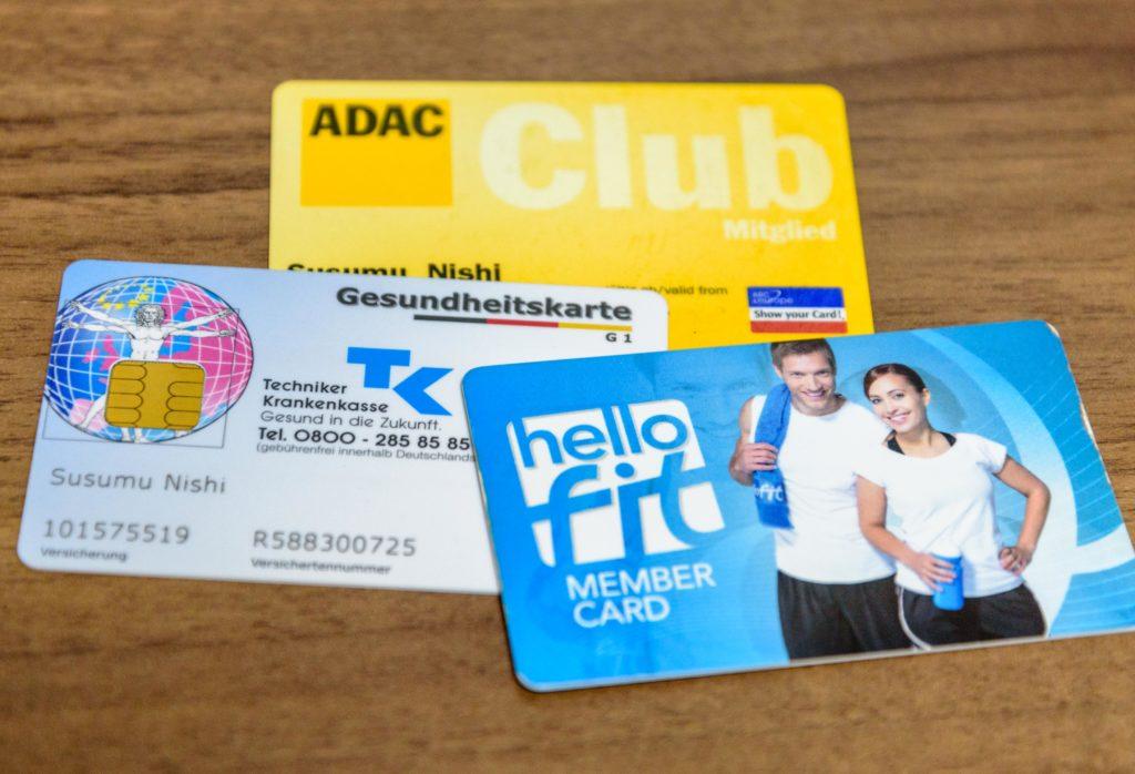 ドイツの健康保険制度 カード