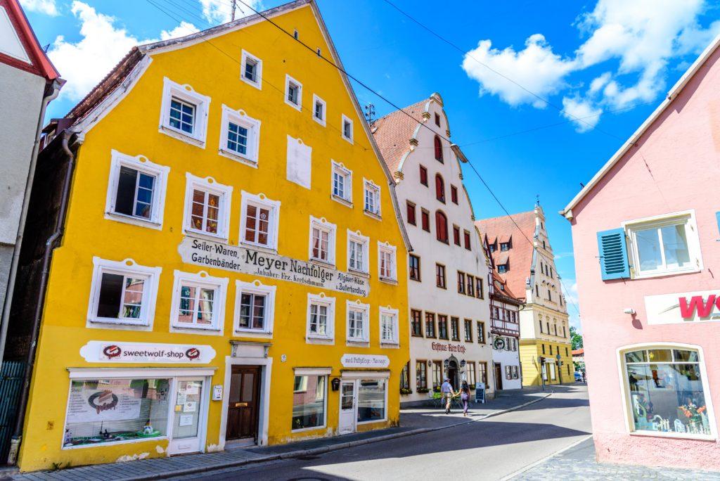 ネルトリンゲン 旧市街の綺麗な家屋