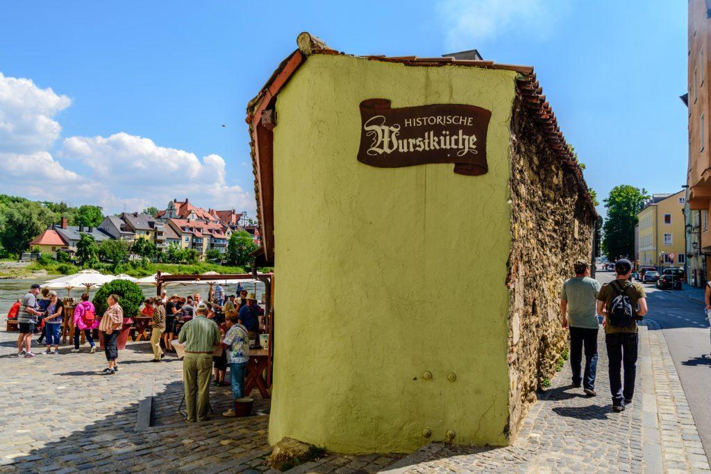 レーゲンスブルク ドイツ最古のソーセージ屋