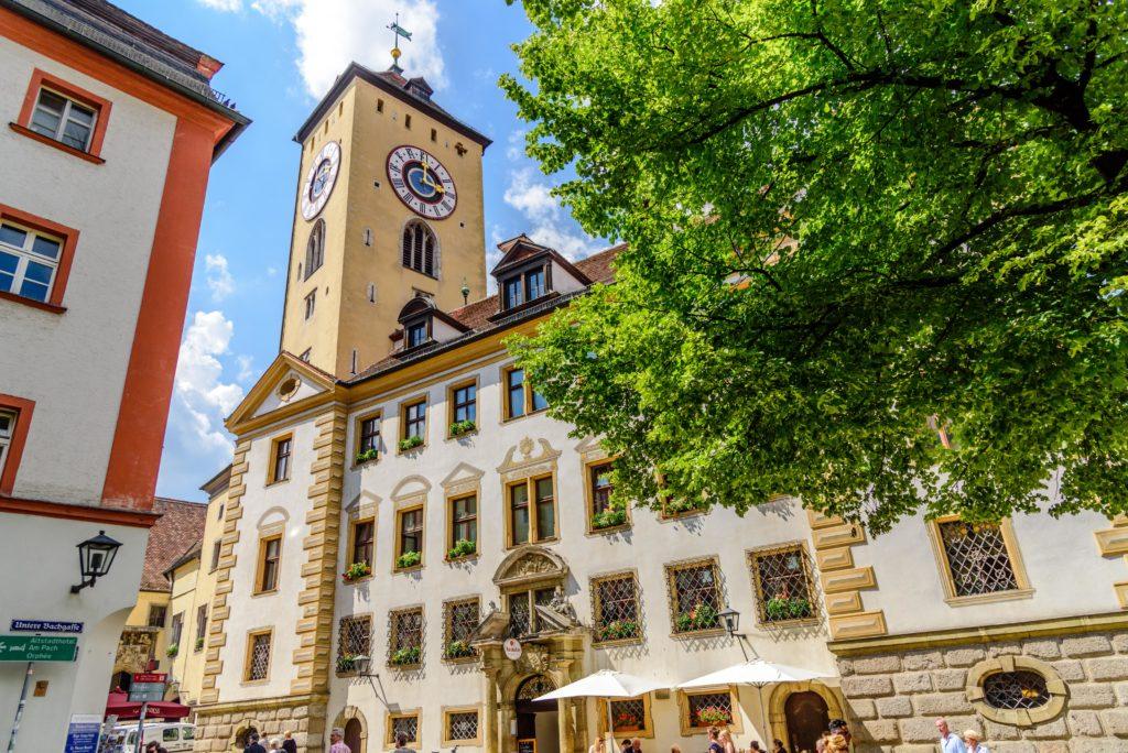 レーゲンスブルク 旧市役所 / altes Rathaus & 時計塔