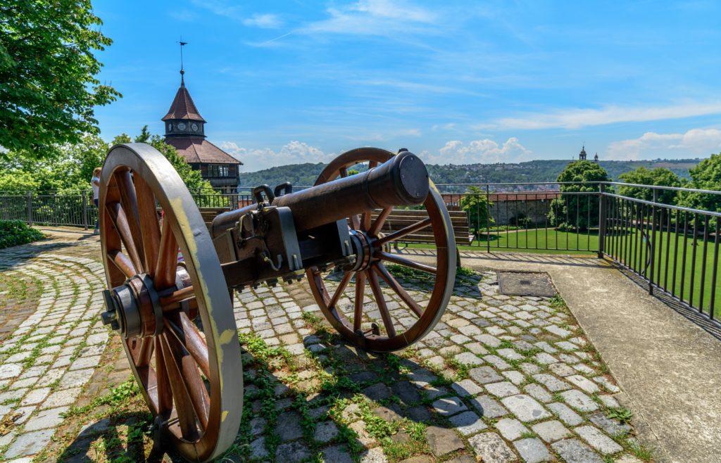 大砲台の大砲