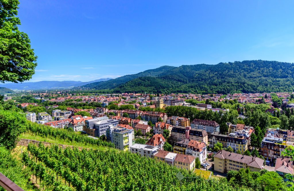 城山からの眺め