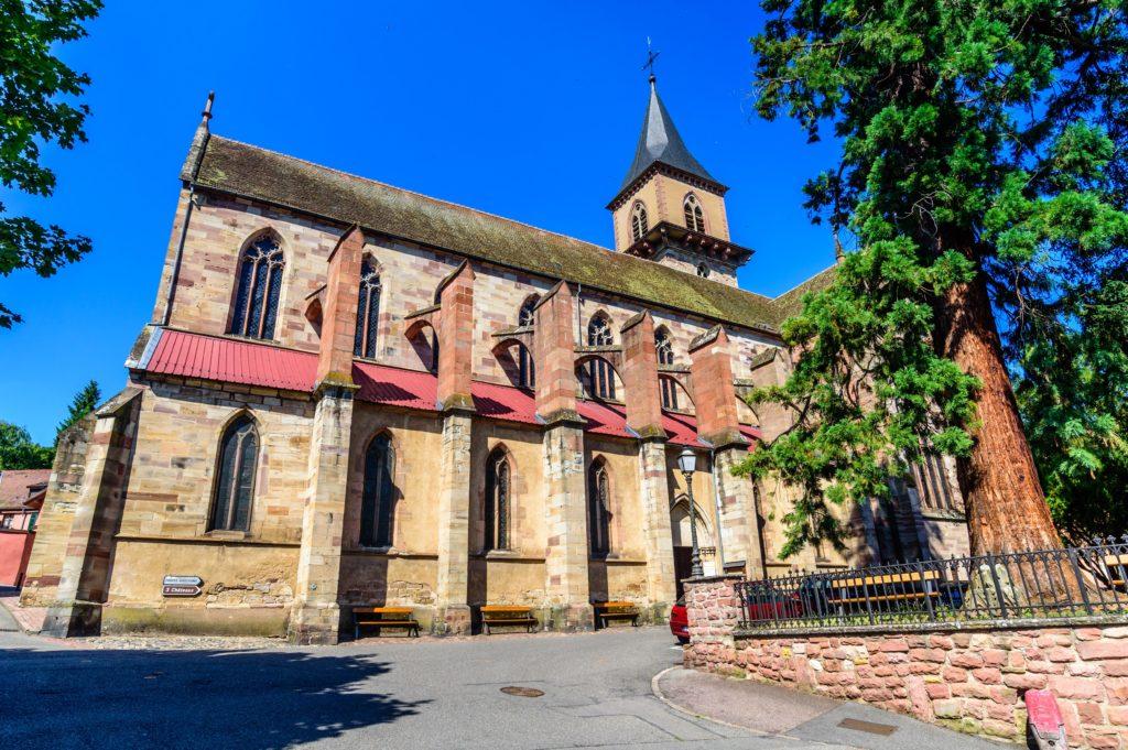リボヴィレ 聖グレゴーア教会