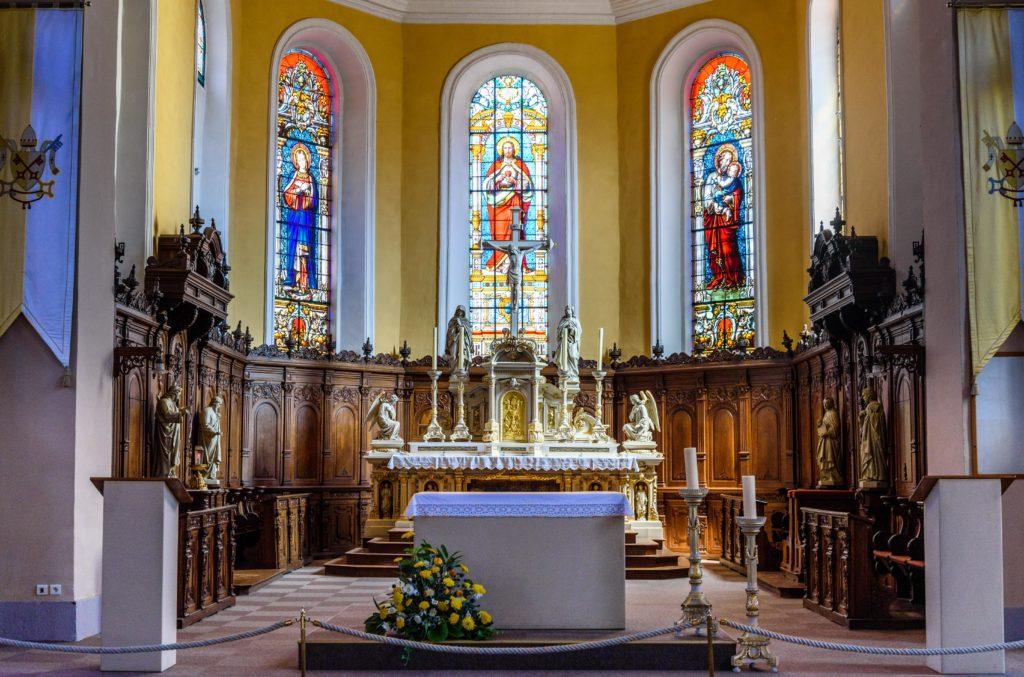 聖 レオ礼拝堂 内部