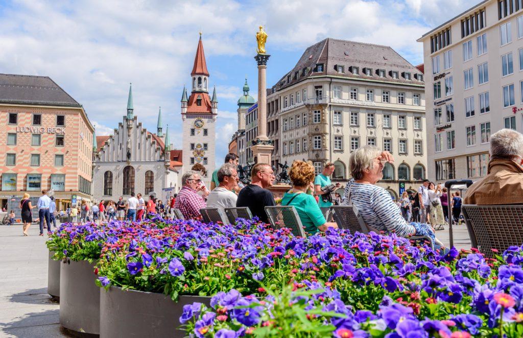 ミュンヘン マリエン広場