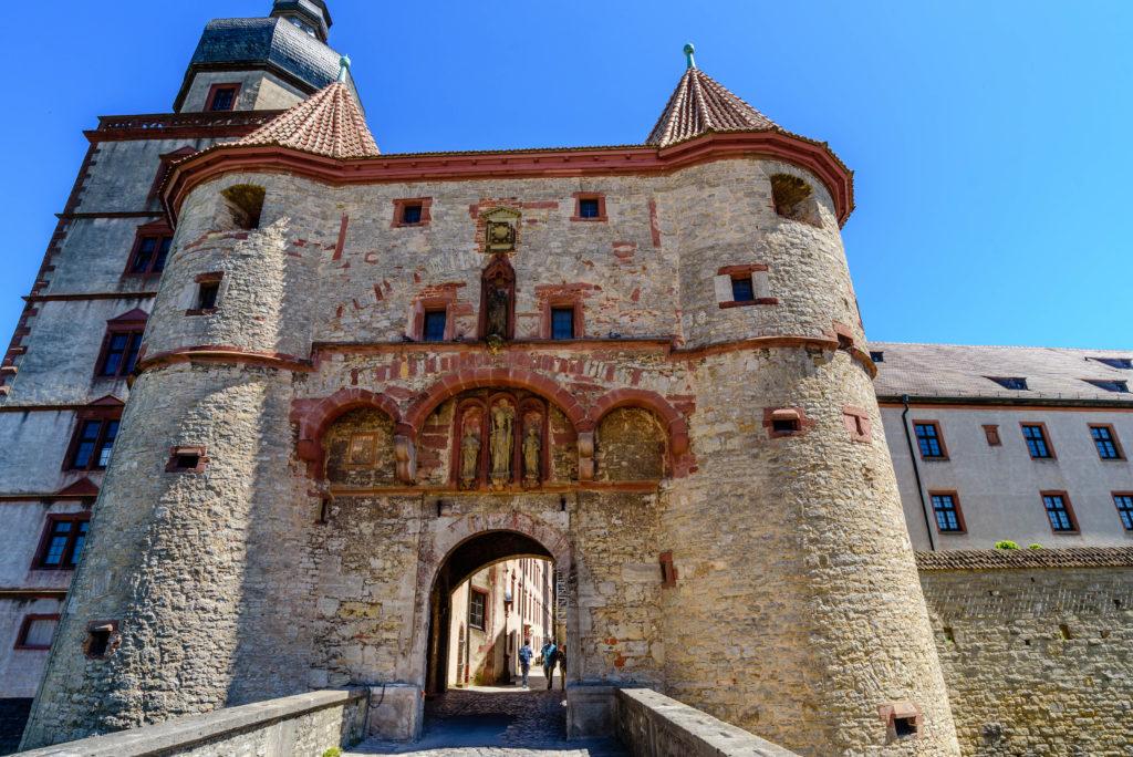 マリエンベルク要塞の門