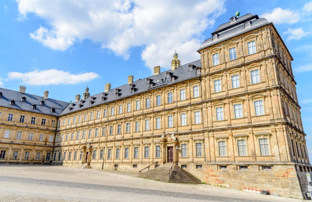 バンベルク 見事な宮殿