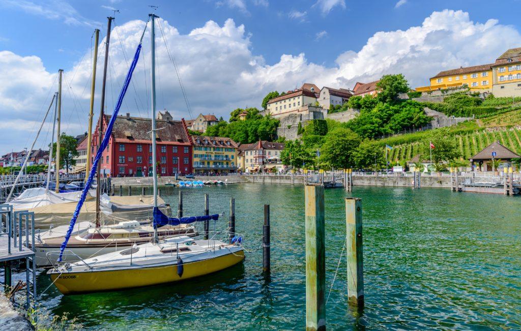 メーアスブルク 観光 - ボーデン湖畔の美しい要塞町