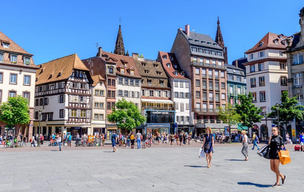 シュトラースブルク のクレーバー広場