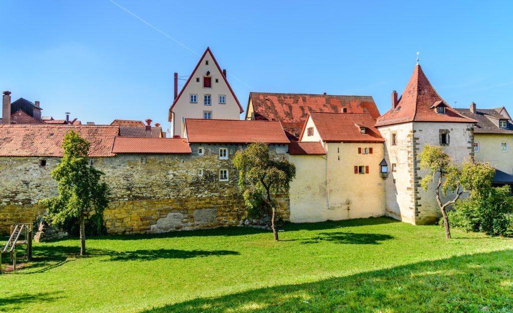 城壁とお堀