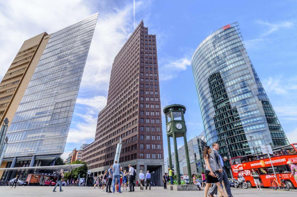 ベルリンの高層ビル
