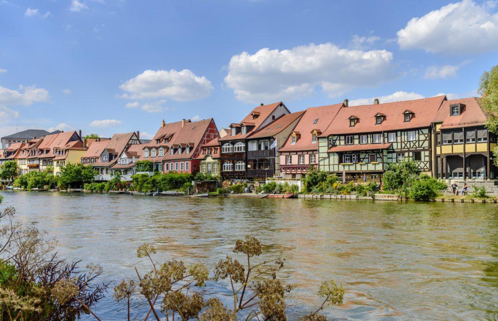 ドイツの観光名所 一番綺麗な町 バンベルク