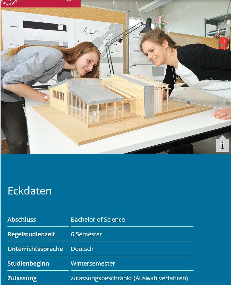 ブラウンシュヴァイク工科大学 建築学科