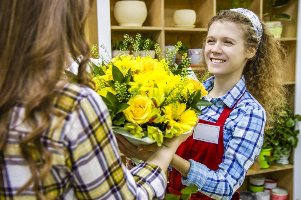 花屋で インターンシップ