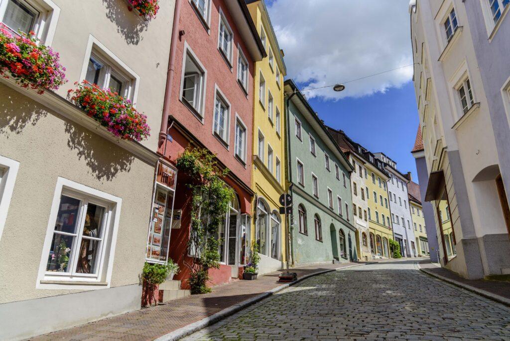 ドイツで唯一の左側走行の道