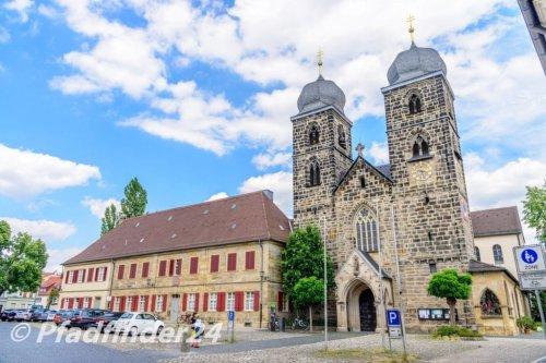 バンベルク 2つの尖塔をもつ教会